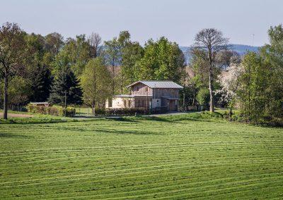 Das Bahnwärterhaus im Grünen